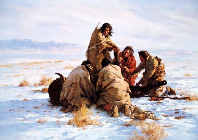 The Last Buffalo by Howard Terpning