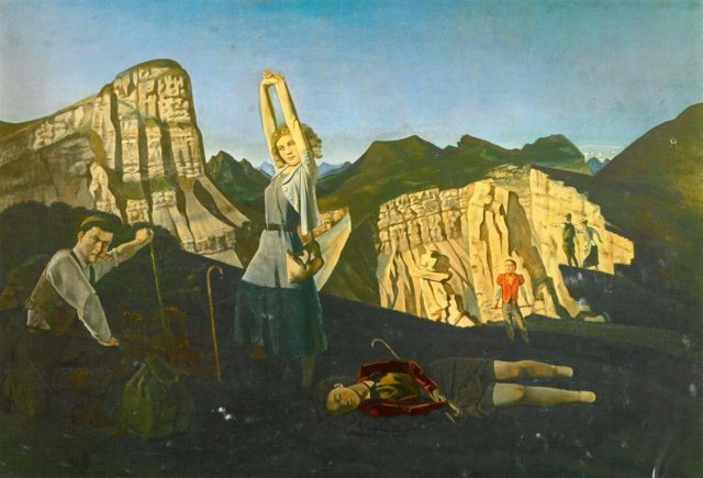 The Mountain by Balthus (1937)