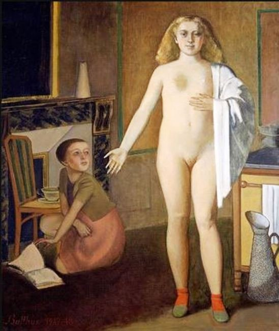 The Room by Balthus (1948)