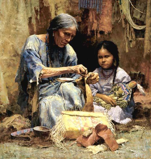 The Teachings of My Grandmother by Howard Terpning