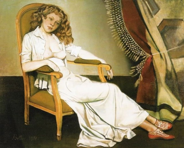 The White Skirt by Balthus (1937)