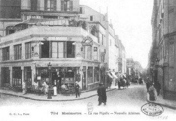 Café de la Nouvelle-Athènes on Place Pigalle