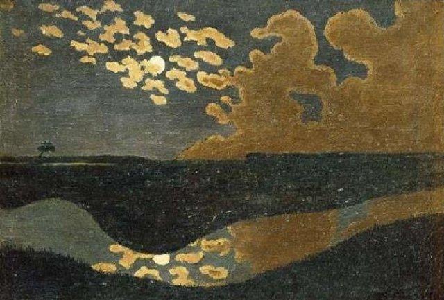 Clair de lune (Moonlight) by Félix Vallotton (1895)