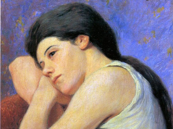 Femme qui reve by Federico Zandomeneghi,