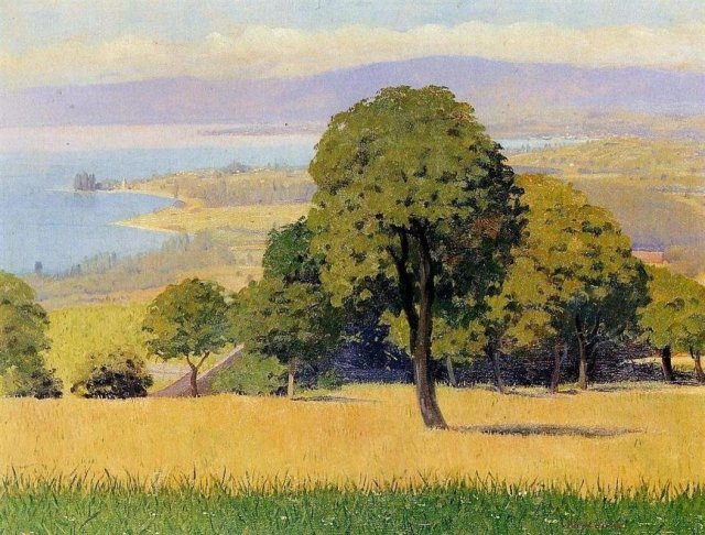 Outskirts of Lausanne by Félix Vallotton (1893)