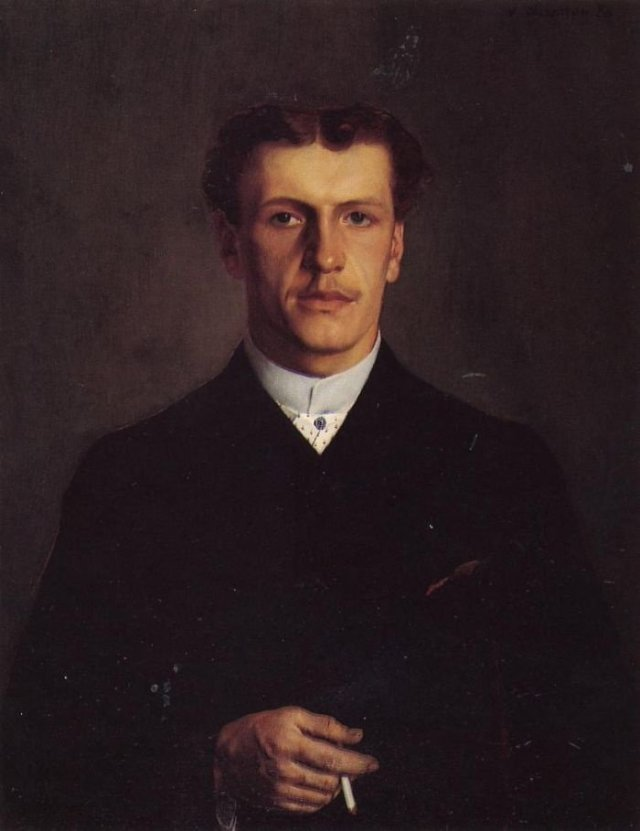 Paul Vallotton by Félix Vallotton (1886)
