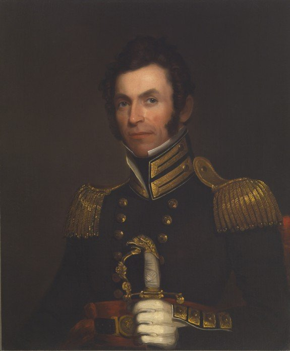 Portrait of Colonel Alexander Smith by Alfred Jacob Miller (1833)