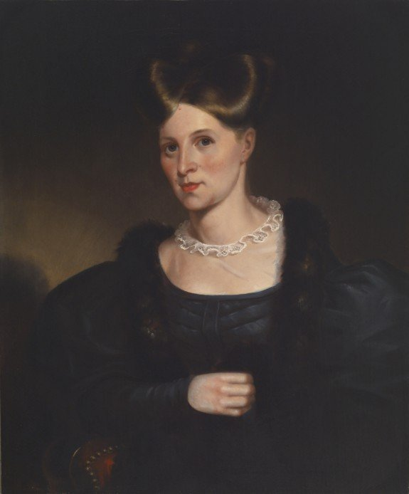 Portrait of Lydia Lloyd Murray by Alfred Jacob Miller (1833)