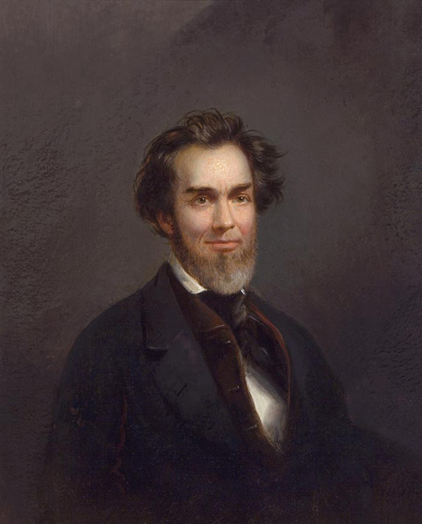 Self Portrait by Alfred Miller (c.1850)