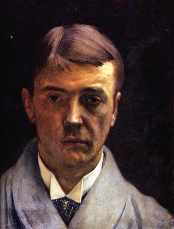 Self portrait by Félix Vallotton (1891)