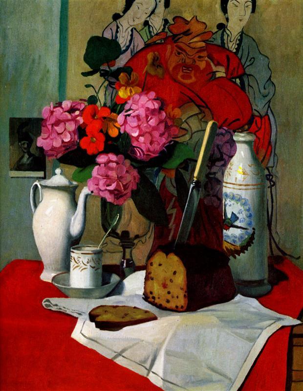 Nature morte a la peinture chinoise by Félix Vallatton (1925)
