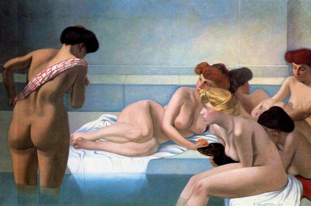 The Turkish Bath by Félix Vallatton (1907)