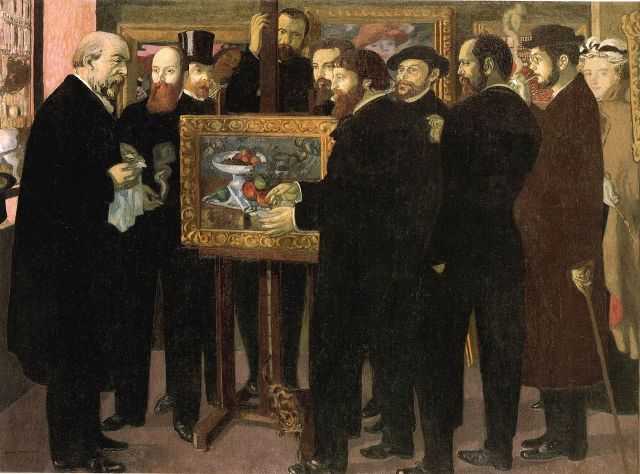 Homage to Cézanne by Maurice Denis (1900)