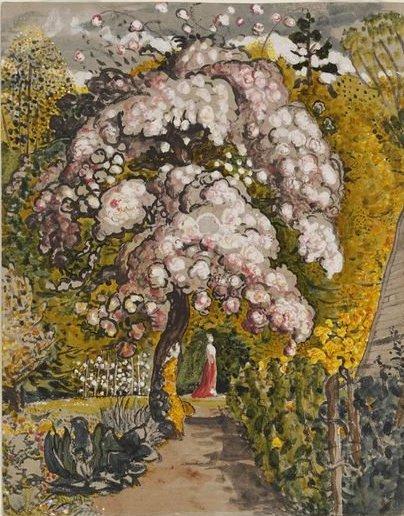 In a Shoreham Garden by Samuel Palmer (1830)