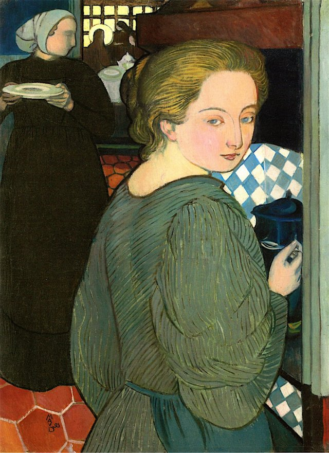La Cuisinière by Maurice Denis (1893)
