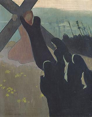 Le Calvaire (La montée au Calvaire) by Maurice Denis (1889 )