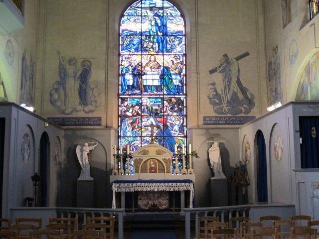 The chapel at Le Prieuré