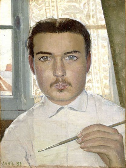 Portrait of the Artist Aged Eighteen by Maurice Denis
