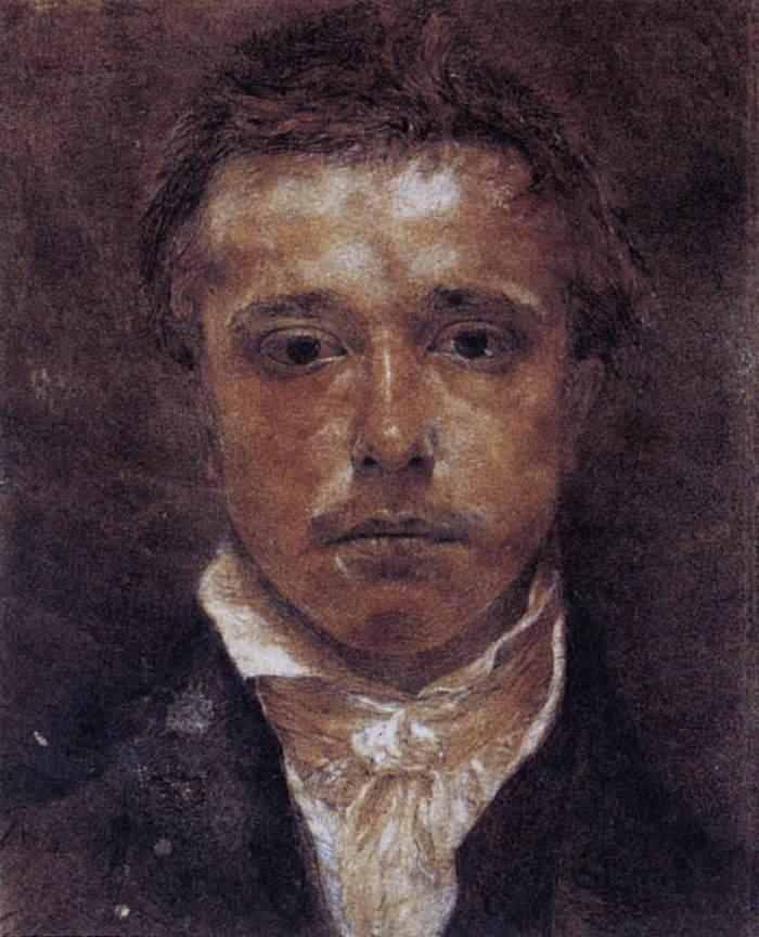 Samuel Palmer a Self-Portrait (1826)
