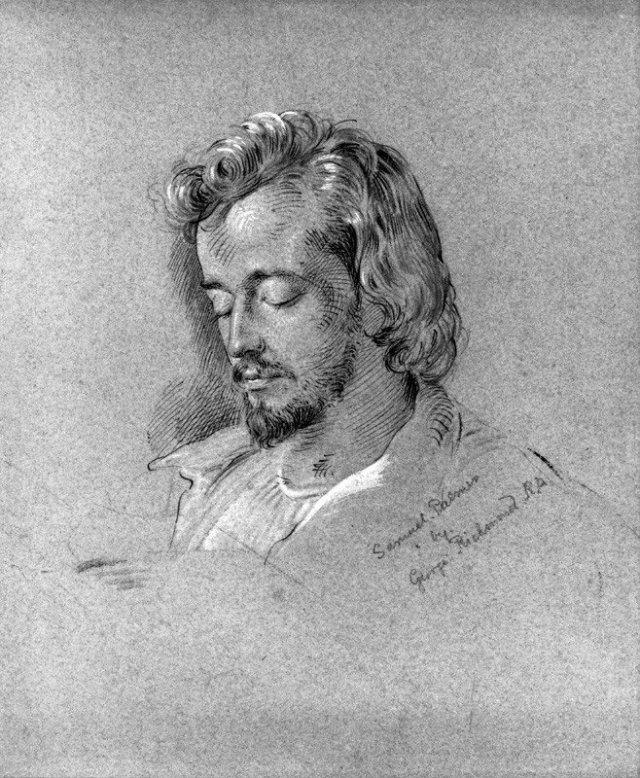 Samuel Palmer by George Richardson (1829)
