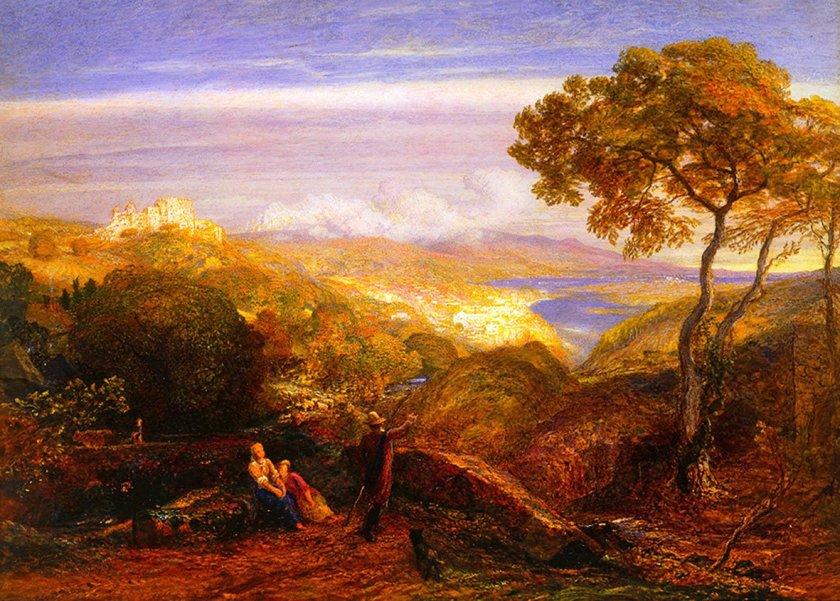 The Prospect by Samuel Palmer (1881)