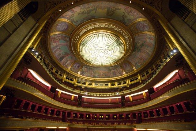 The dome of the Theatre Champs-Élysées