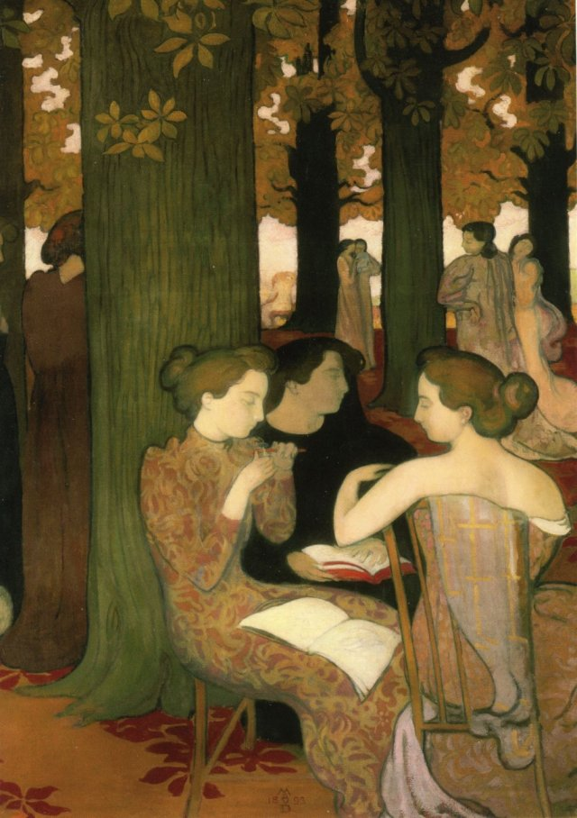 The Muses by Maurice Denis (1893)