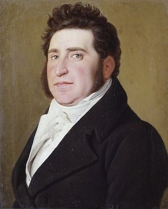 Mendel Levin Nathanson by Christoffer Eckersberg (1819) (32 x 28cms) Museum of National History at Fredericksborg Castle