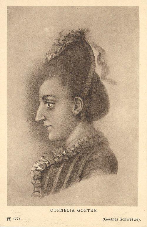 Cornelia Goethe (1771)