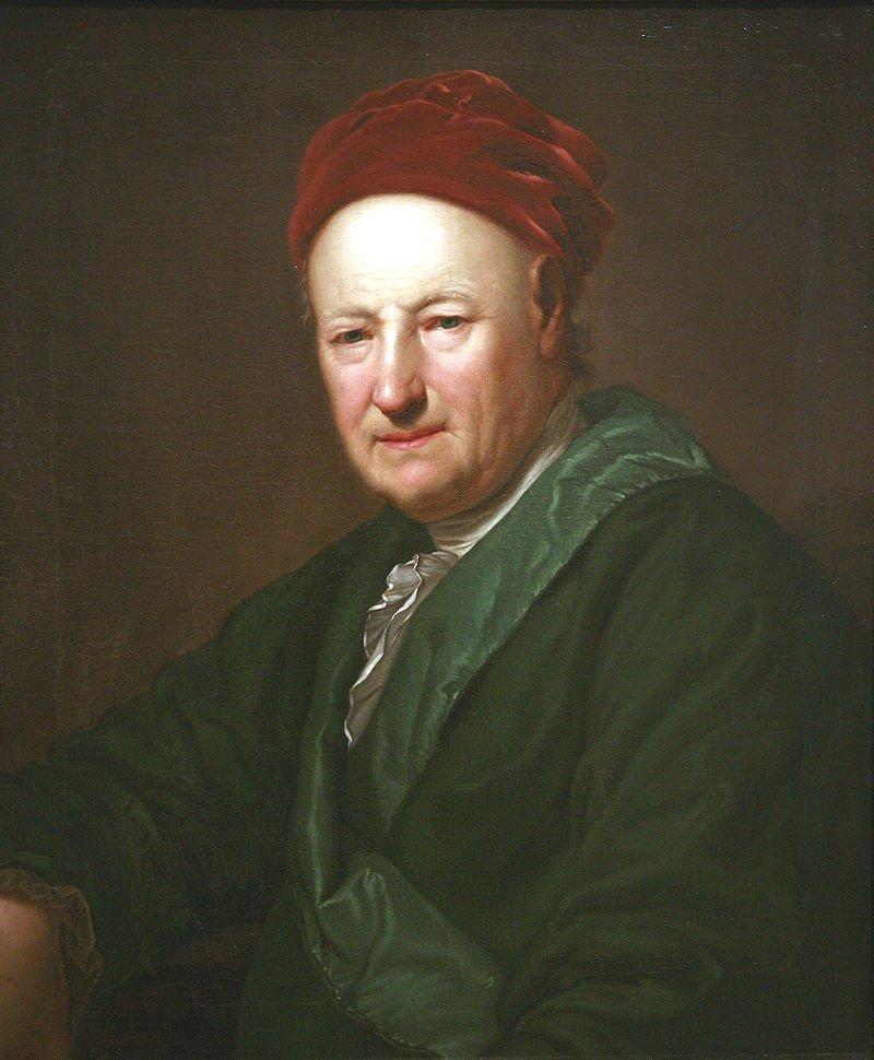 Portrait of Adam Oeser by Anton Graff (1776) (Musée des Beaux-Arts de Strasbourg)