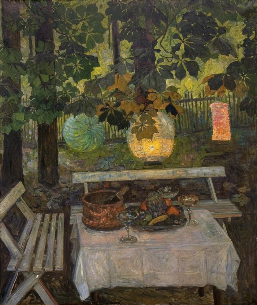 Still life by Thorolf Holmboe (1907)
