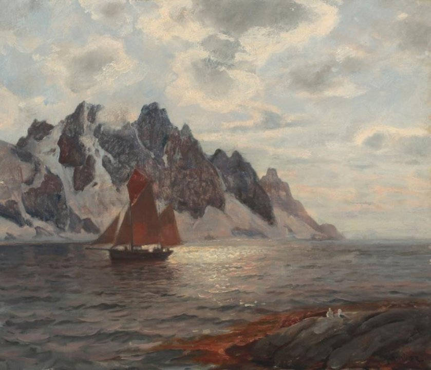 The Journey by Thorolf Holmboe