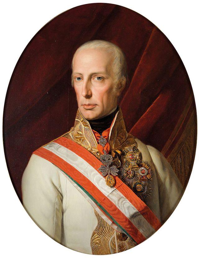 Ferdinand Georg Waldmüller Kaiser Franz I (1827)