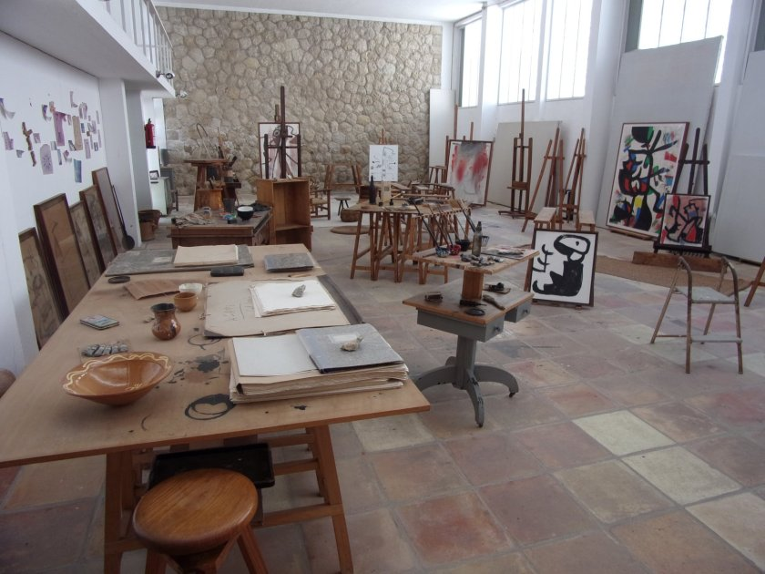 Inside Miró's Sert Studio