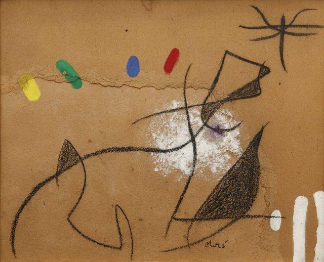 Oiseau dans La Nuit by Joan Miro (1973)