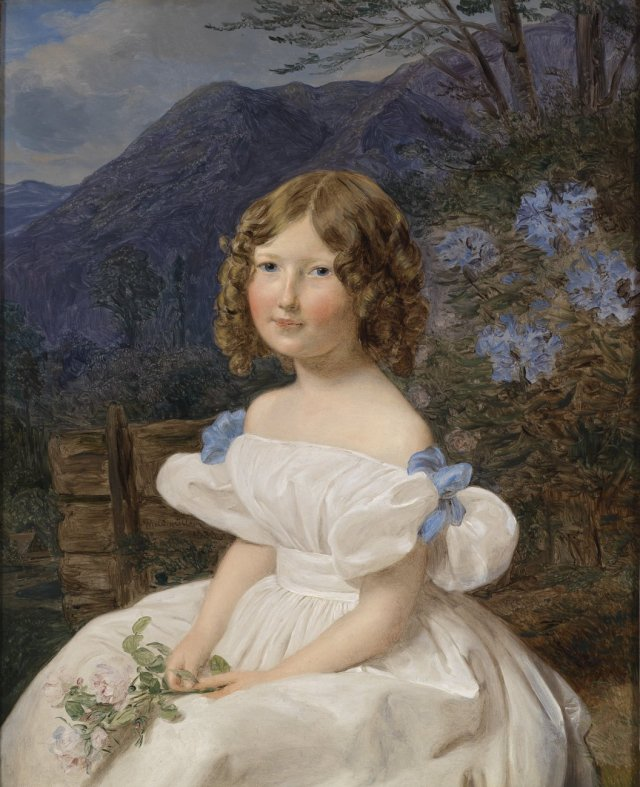 The Girl Antonia Seemann by Ferdinand Waldmüller