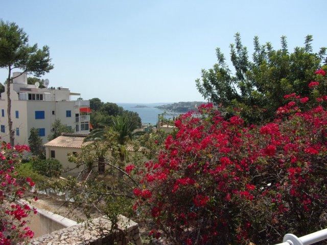 View of Cala Major, Palma, from the Joan Miro Museum