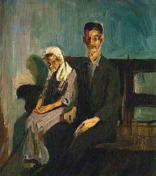 Beggars, Havana. Cuba by Alice Neel (1926)