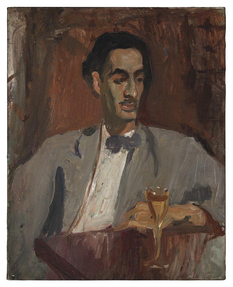 Carlos Enríquez by Alice Neel (1926)