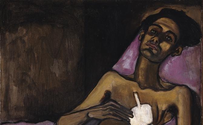 T B Harlem by Alice Neel (1940)