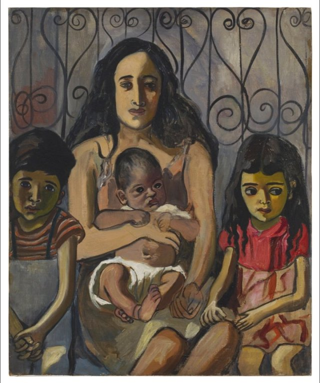 Spanish Family by Alice Neel (1943)