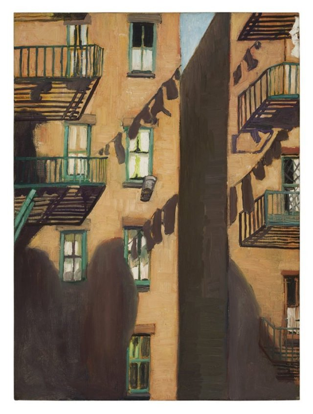Fire Escape by Alice Neel (1948)