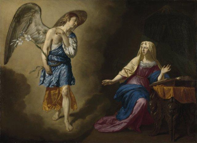 The Annunciation to the Virgin by Adriaen van de Velde (1667)
