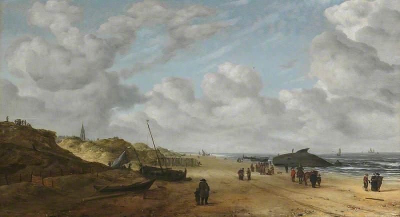 View of Schevningen Sands by Hendrick van Anthonissen (1641)