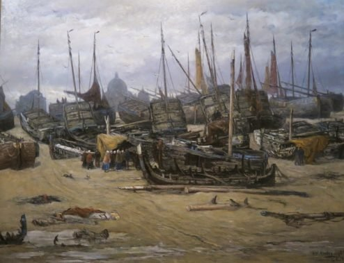 After the Storm of 1894 by Hendrik Mesdag (1894)