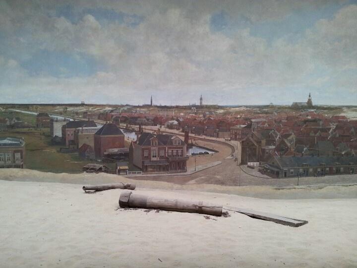 Panorama Mesdag - view of Scheveningen