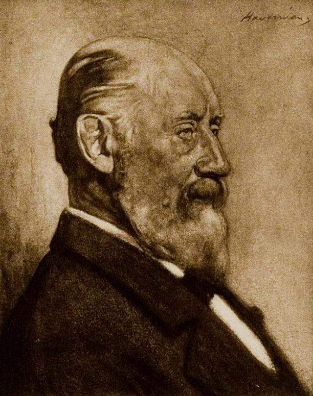 Hendrik Willem Mesdag by Hendrik Johannes Haverman