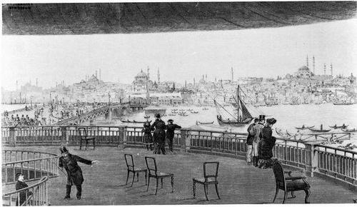 London Panorama by Robert Barker (1792)