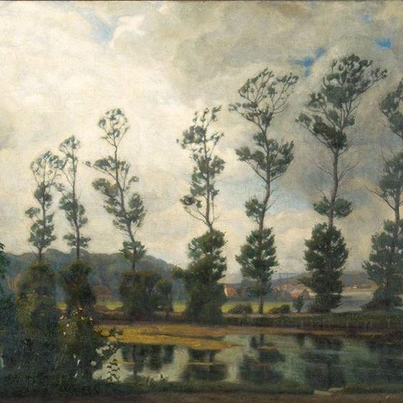 Landscape by Einar Wegener (1908)