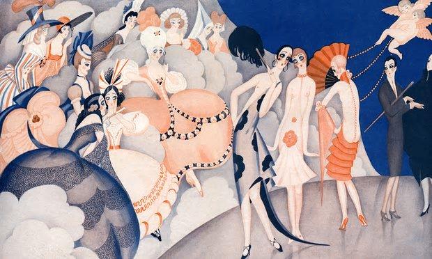 Illustration by Gerda Wegener